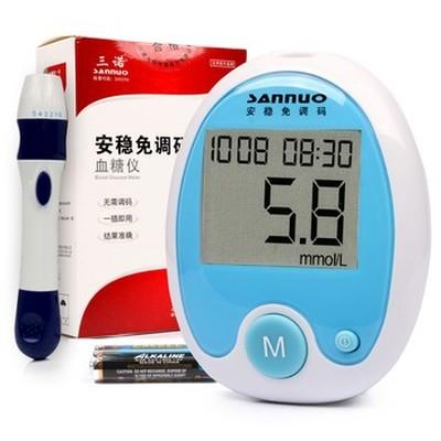 三诺 安稳免调码血糖仪产品图片2