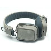 海威特 HV-H358F 时尚音乐手机耳机/头戴式/通话功能/ 浅灰色(海外热销)
