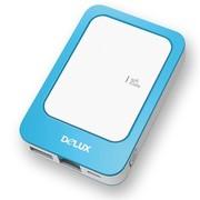 多彩 iU-01W wifi移动电源无线存储3G多媒体共享 迷你无线路由器
