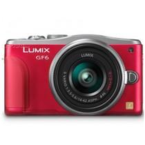 松下 GF6 微单套机 红色(20mm F1.7 II ASPH 镜头)产品图片主图