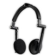 酷冷 贴耳式耳机 (HDSS专利技术/3D立体绿色音效/线控/折叠易携带) 黑色
