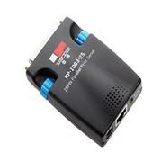 固网 HP-1003-25 微型票务打印机25针并口打印服务器(黑色)