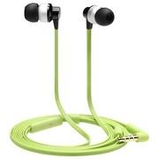 TrekStor S200 德国品牌 专业发烧神器 面条式线控带麦手机入耳耳机 完美音质 绿色