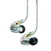 舒尔 舒尔(Shure) SE315 入耳式 透明色