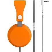 云之声 云之声(COLOUD) Boom 头戴降噪线控耳机 橙灰色