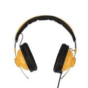 明基 EP500(黄色) 头戴式耳机 超炫低音 麦克线控