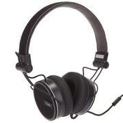 iLUV IHP636BLK ROCKefeller - 高原声立体声 智能手机通用 EZ 线控带麦 头戴式耳机  黑色