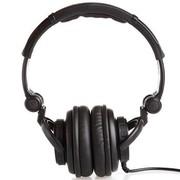 舒音 DJ-800 头戴式可折叠监听耳机 高级耳机K歌 黑色