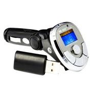 先科 AY568 车载MP3播放器 点烟器式 4G内存 黑色