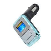 先科 A803 车载点烟器式MP3播放器 4G内存 蓝色