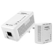 ZINWELL PWQ-5101套装 500M无线AP电力猫(WiFi802.11n)电力线适配器 白色