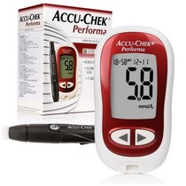 罗氏 卓越型血糖仪送50片试纸和采血针产品图片主图