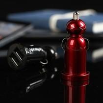其它 趣玩 Power Doll 俏皮娃娃USB车载充电器 -红色产品图片主图
