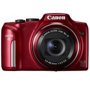 佳能 SX170 IS 数码相机 红色(1600万像素 3英寸液晶屏 16倍光学变焦 28mm广角)