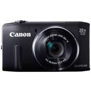 佳能 SX275 HS 数码相机 黑色(1210万像素 3英寸屏 20倍光学变焦 25mm广角 WiFi传输)