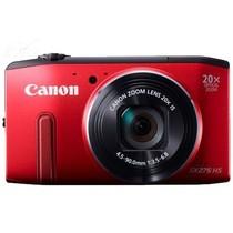 佳能 SX275 HS 数码相机 红色(1210万像素 3英寸屏 20倍光学变焦 25mm广角 WiFi传输)产品图片主图