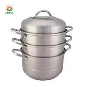 苏泊尔 易存储不锈钢三层复底蒸锅