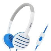 硕美科 声籁(SALAR) EM310i 头戴式手机线控音乐耳机 时尚立体声耳麦 适用苹果/HTC/华为/三星等 蓝色