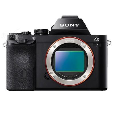 索尼 A7 微单机身 黑色(2430万像素 3英寸液晶屏 连拍5张/秒)产品图片1