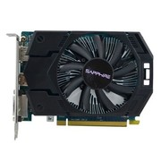 蓝宝石 HD7770 1G GDDR5 白金版2代 950/4500MHz 1GB/128bit GDDR5 PCI-E 显卡