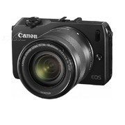 佳能 EOS M 微单套机 黑色(EF-M 18-55mm f/3.5-5.6 IS STM 镜头)