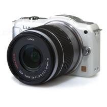 松下 GF5 微单套机 白色(G Vario 14-42mm F3.5-5.6 ASPH Mega O.I.S. 镜头)产品图片主图