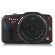 松下 GF5 微单套机 棕色(Lumix G 14mm f/2.5 ASPH 镜头)