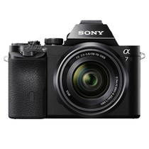 索尼 A7 微单套机 黑色(FE 28-70mm F3.5-5.6 OSS 镜头)产品图片主图