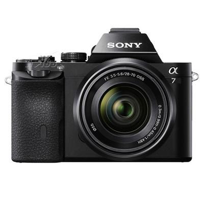 索尼 A7 微单套机 黑色(FE 28-70mm F3.5-5.6 OSS 镜头)产品图片1
