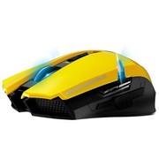 富勒 X100 双翼游神   双模动力无线游戏鼠标 (熔岩版)