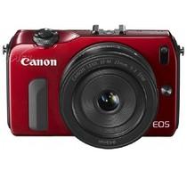 佳能 EOS M 微单套机 红色(18-55mm,22mm)产品图片主图