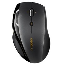雷柏 7800P 5G无线激光鼠标 黑色产品图片主图