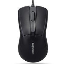 雷柏 M130 有线光学鼠标 黑色产品图片主图