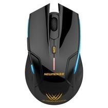 新贵 E500 无线游戏发光鼠标 黑色产品图片主图