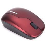 联想 N3902 无线光学鼠标(深红)