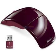 微软 无线激光鼠标ARC 红色