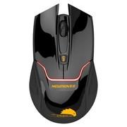 新贵 E400 无线游戏发光鼠标 黑色(红光)