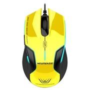 新贵 N500 游戏大鼠标(黄色) USB接口 蓝光版