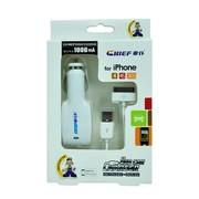 车仆 便携式USB车载充电器 多功能车载充电器