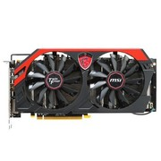 微星 R9 280X GAMING 3G 1050 MHz(OC Mode)/6000 MHz 3GB/384 bits GDDR5 PCI-E 3.0 显卡