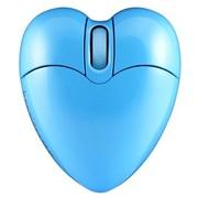 邦的 邦的(Bondidea) i5 心形无线鼠标 蓝色