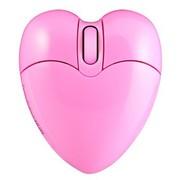 邦的 邦的(Bondidea) i5 心形无线鼠标 粉色