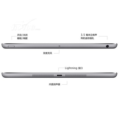 苹果 iPad Air MD789CH/A 9.7英寸平板电脑(苹果 A7/1G/32G/2048×1536/iOS 7/银色)产品图片5