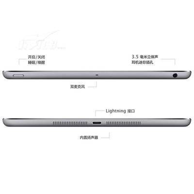 苹果 iPad Air MD788CH/A 9.7英寸平板电脑(苹果 A7/1G/16G/2048×1536/iOS 7/银色)产品图片5