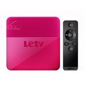 乐视 盒子C1S(桃红)含乐视网TV版高级VIP服务年卡一张