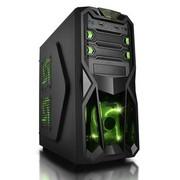 爱国者 黑暗骑士D8 中塔游戏机箱 黑色(标配一个12CM LED静音风扇/USB3.0/免工具设计)