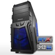 至睿 战魔A9 机箱(倒置38度架构/USB3.0/SSD位/背部走线/电源下置)黑色
