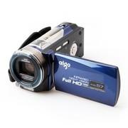 爱国者 AHD-S7 数码摄像机 蓝色(510万像素 10倍光学变焦 1080P高清摄像 3.0英寸液晶屏 双卡存储)