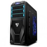 至睿 暗影崛起RS100机箱 (原生USB3.0+1颗风扇+全顶盖) 黑色