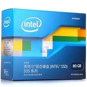 英特尔 335 系列 80G 2.5英寸 SATA-3固态硬盘 (SSDSC2CT80A4K5)
